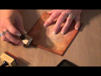 Tim Holtz Binder Ring Mini Part 1