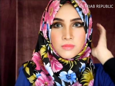 Tutorial Hijab  HIJAB TUTORIAL #28   Spring Summer 2014  Love in Turkey