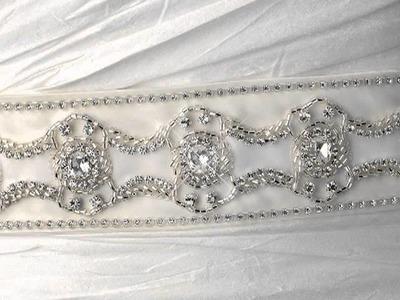 Wedding Sash Bridal Belts from SilkFlowerWedding.COM