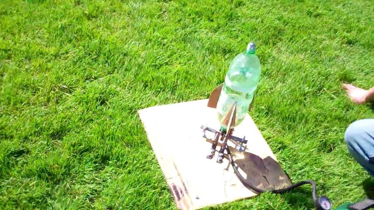 Bottle rocket design and launch ~ 260 feet into the air!