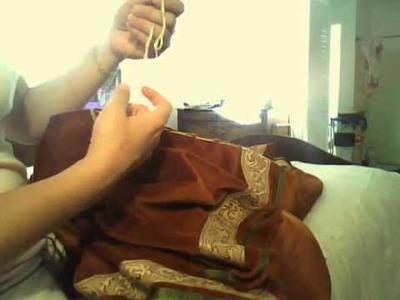 Cartridge Pleating your Outerskir to the waistband