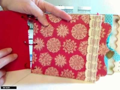Christmas Recipe Mini Album Kit *Sprinkled With Love*