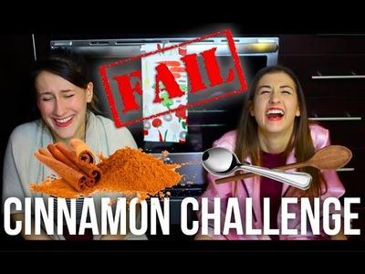 Cinnamon Challenge FAIL with MEG! #SundayFunday | itsLyndsayRae