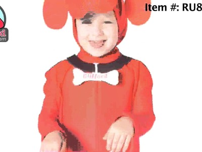 Clifford the Big Red Dog Halloween Costumes