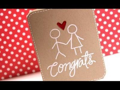 Congrats - Make a Card Monday #82