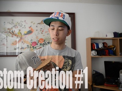 Custom Creation #1: Custom Strapbacks.Snapback & Custom 5 Panel???
