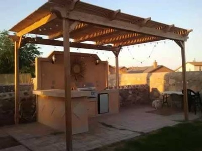 El Paso Pergolas Outdoor Kitchen Designs Bar Ideas How to Build
