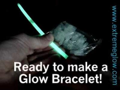 Glow bracelet tutorial www.extremeglow.com