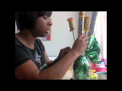 How to Make a CandyBar Bouquet