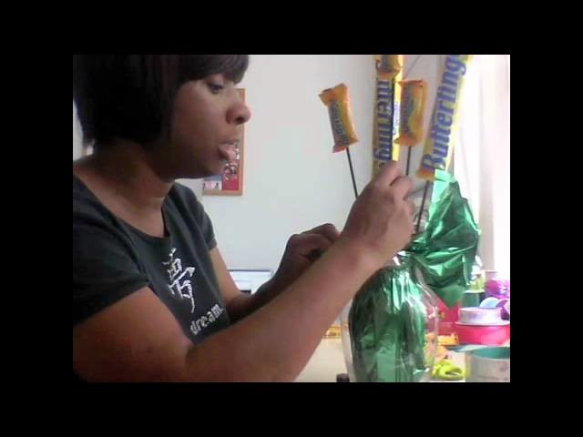 How to Make a CandyBar Bouquet