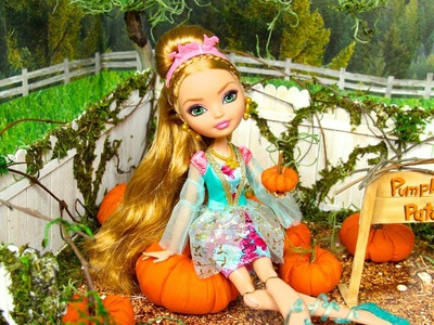 How to Make a Doll Pumpkin Patch - Doll Crafts