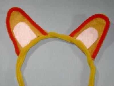 How to Make  a neko mimi (cat,  bunny, bear, mouse ears same - EP