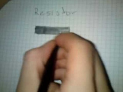How to make a resistor tutorial!