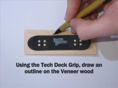 How to Make A Wooden Fingerboard (the easy way)