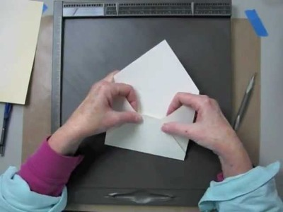 How to Make Envelopes With Simply Scored Diagonal Plate.m4v