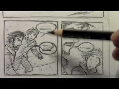 How to Make Rough Layouts for Comics.Manga