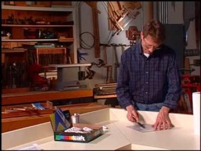 How to repair damaged laminate countertop with SeamFil