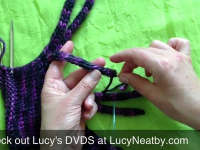 Making An I-cord Fringe Cast-on