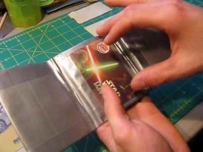 Mini Tutorial - ID holders in Tri and Bi-fold wallets