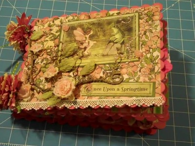 Once Upon a Springtime Mini Album - Day 16 of MS 31 Day Challenge.mpg