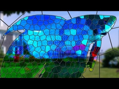 Photoshop: How to Make a Custom, Stained Glass Window