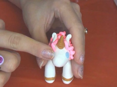 Polymer Clay Little Unicorn Tutorial