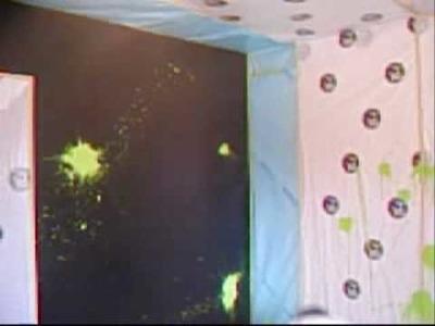 Splash Painting Technique
