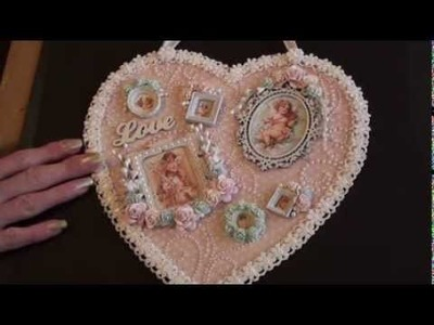 Wild Orchid Crafts - Sweet Sentiments Heart.