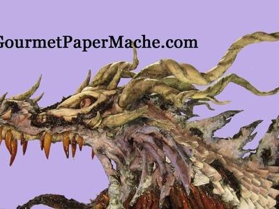 Zombie Paper Mache Dragon