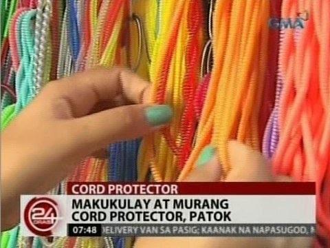 24 Oras: Makukulay at murang cord protector, patok