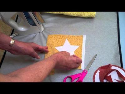 APPLIQUE-- Ironing Freezer Paper (#4 of 13 videos) - LearnHowToQuilt.com BEGINNER BASICS