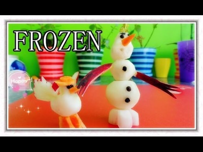 Art In Radish Frozen Show - Fruit Vegetable Carving Garnish - Disney's Frozen