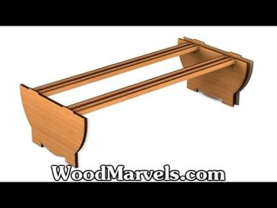 Build your own Small Wooden Table (HD)!