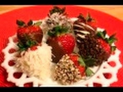 Chocolate Dipped Strawberries: Farmers' Market Gourmet #26