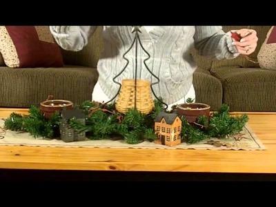 Christmas Table Display - Country Christmas Ideas
