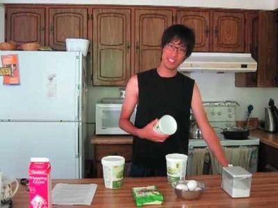 Cooking with Derek - Green Tea Ice Cream Part 1.4