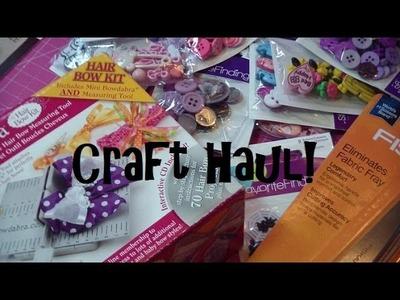 Craft Haul: Michaels & JoAnn!