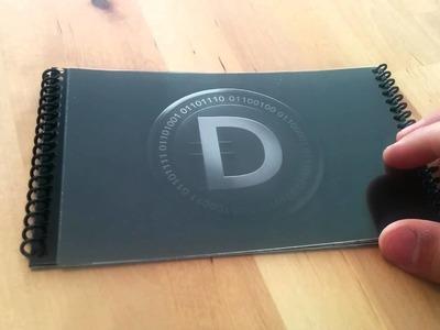 DarkCoin Paper Wallet - New and original design