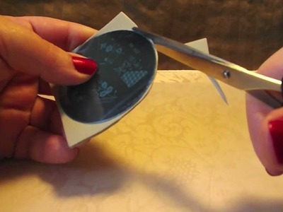 DIY: Nail Stamping Plates *How to fix sharp edges on image plates* for Nail Art