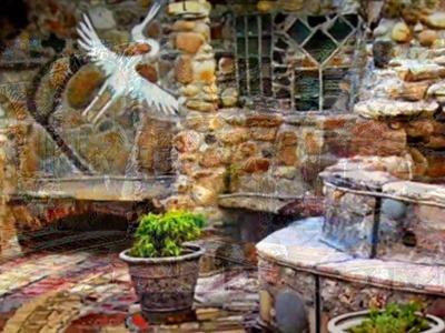 EcoUniquity.com. Andy Whitaker. Stone Mosaic Art