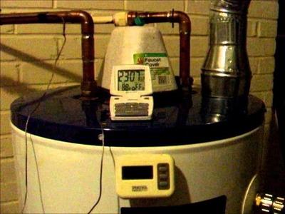Experimental Solar Thermosiphon Water Heater DIY version 2.0