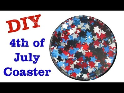 Fourth of July Coaster   Another Coaster Friday Craft Klatch