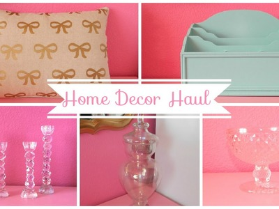 Home Goods Haul + Home Decor and More!