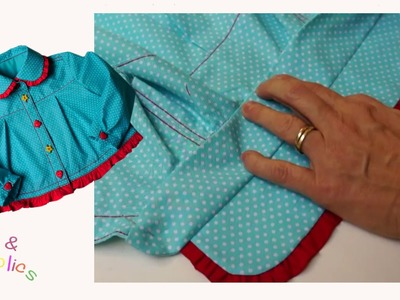 How to attach a shirt collar - Megan's Rockabilly Blouse