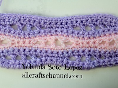 How to Crochet Seafoam Motif