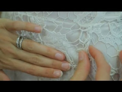 How to Fix a Bride's Torn Dress : The Wedding Dress