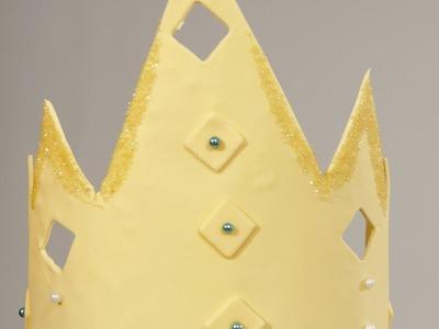 How to Make a Fondant Crown   Cake Fondant
