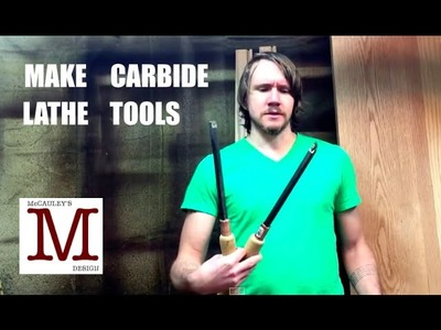 How to Make Carbide Lathe Tools   001
