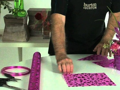 How to make organza butterflies for floral design