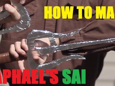 How to Make Raphael's Sai-TMNT--Halloween Prop